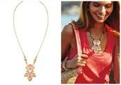 Hibiscus Pendant Necklace