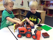 "Charlie & William play ""Farm"""