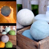 Handmade Dryer Balls