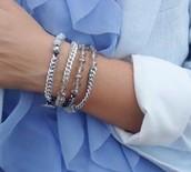 Beaded Multi Wrap Bracelet