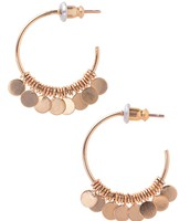 Small Fringe Hoops - Gold