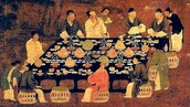 A banquet from the Song Dynasty