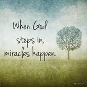 I believe that miracles happen.