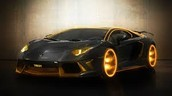 The Lamborghini aventador.