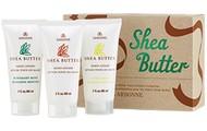 Shea butter hand cream trio