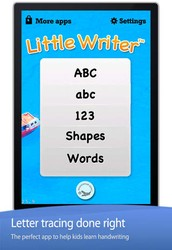 App of the week: Number and letter writing