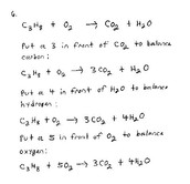 Steps how to Write and Balanced a Chemical Equation