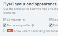 2. Hide or show elements