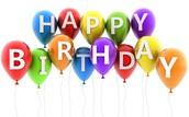 Happy Birthday in March