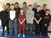Middle School Wrestlers Place in Tournament