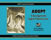 ADEPT:  A Developmental English Proficiency Test