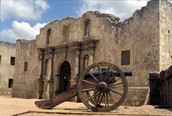 What was left of the Alamo