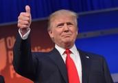 Donald Trump at Republican debates
