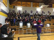 Combined Pep Band