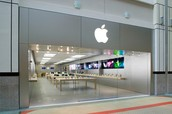 The newest opening apple store
