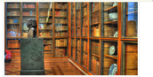 The British Enlightenment room/library