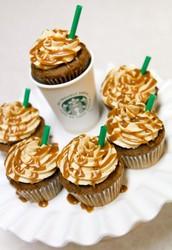 We sell Starbucks CUPCAKES!!! Yum