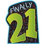 Is Finally 21