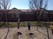We love swings!