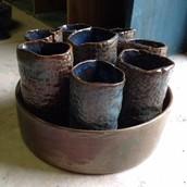 7th Grade Art Project - Gator Gala Cups
