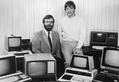 Bill Gates and Paul Allen Success