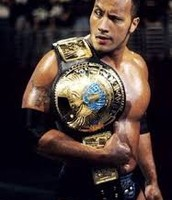the rock in one of his title runs