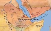 map of axum