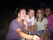 Mi amigas, Corrine, Khushi y Addie