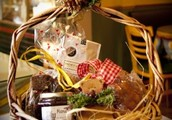 Bread and Jam gift basket.....