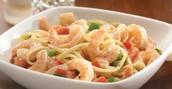 Our famous Shrimp Primavera 19.99 plus tax