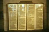 95 theses hanging up