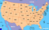 I have been to 13 different states