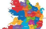 map of the republic  ireland
