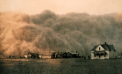 Close up on The Dust Bowl