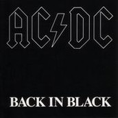 "Song 1:  ""Back in Black"" by AC/DC"