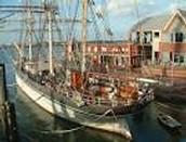 Elissa Ship In galveston