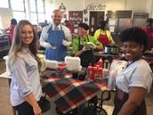 """Teacher Appreciation Week at """"Cafe Massey"""""""