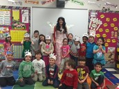 The Tooth Fairy with our class!