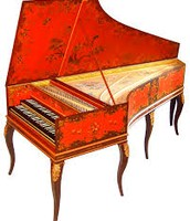 Harpsichord from the Baroque era