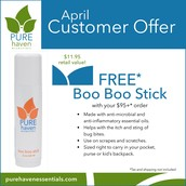 Boo Boo Stick Free with $95+ purchase