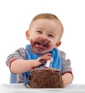 ¡No comas los pasteles!