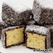 "The lamington is often referred to as the ""National Cake of Australia"