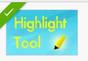 Add highlight tool