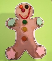 A Finished Gingerbread Baby!