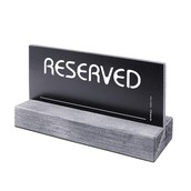 Tavolo reserved