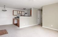 Modern living room/dining room/kitchen