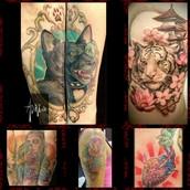 Los tatuajes más realistas del momento..