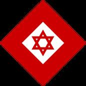 """סמל מד""""א במסגרת הצלב האדום מאז 2006"""