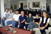 משפחתו של רבין