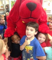 Clifford visited the KPS Book Fair